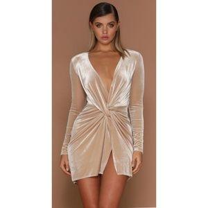 533f5dea1a Meshki wrapped dress